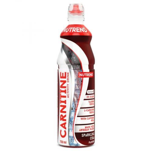 NUTREND Carnitine Activity Drink s kofeinem 750 ml cola