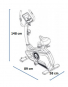 Housefit TIRO 100 iTrain rozměry trenažéru