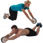 Kolečko na břicho TUNTURI dvojité workout