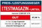 Vítěz prestižního německého časopisu TESTMAGAZIN z roku 2015