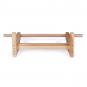 Dřevěná hrazda na ribstole Fitham_05