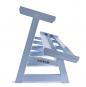 Stojan na jednoručky HEXA a STYL dvouřadý 2,5 m z boku