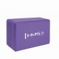 Jóga blok - cihlička KJ01 HMS fialový
