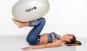 Gymnastický míč Egg - elipsa LEDRAGOMMA workout 2