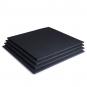 TRINFIT Gumová podložka pod činky 100 x100 x 2cm černá_4kusy