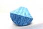 Foam Roller půlválec 90 x 7,5 cm modrý upside down