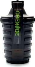 Shaker GRENADE 600 ml + 300 ml černý