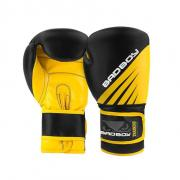 BAD BOY boxerské rukavice TRAINING SERIES IMPACT černo-žluté