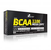 OLIMP BCAA 1100 Mega Caps 120 kapslí + 5 vzorků Gain Bolic zdarma!