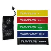 Posilovací guma TUNTURI sada - 5 ks