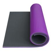 Podložka Fitness Super Elastic YATE 95 cm fialová/šedá