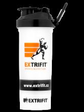 EXTRIFIT Shaker Triple 600 ml transparent
