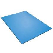 Podložka na cvičení dvouvrstvá 12 mm 95 x 70 cm YATE černá/modrá
