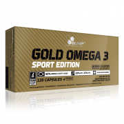 OLIMP Gold Omega 3 Sport Edition 120 kapslí