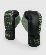 Boxerské rukavice Boxing Lab black/green VENUM