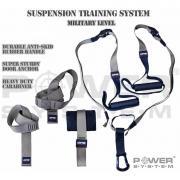 Posilovací závěsný systém  Závěsný systém Suspension Training System Khaki POWER SYSTEM