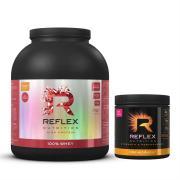 REFLEX 100% Whey Protein 2 kg + Pre Workout 300 g zdarma