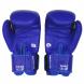 Boxerské rukavice Predator BAIL modré zezadu