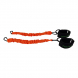 MMA & Box Tréninkový systém s expandery TUNTURI připojení oranžové