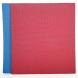 Tatami Economic 100 x 100 x 2 cm modré-červené