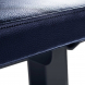 FITHAM Posilovací lavice rovná PROFI černá koženka