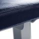 FITHAM Posilovací lavice rovná PROFI šedá koženka